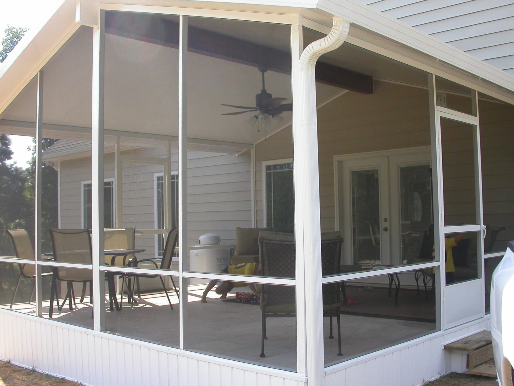 Sunroom screen room abc windows and more for Screen room plans