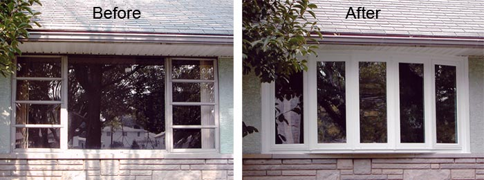 Trade in old windows for new replacement windows by ABC Windows and More Perrysburg Ohio